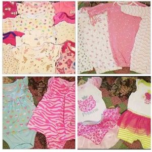 Size 3-6 Month Baby Girl Mixed Clothing Lot